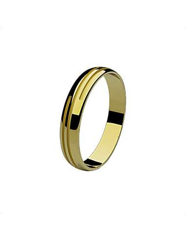 WEDDING RING STYLE YELLOW GOLD