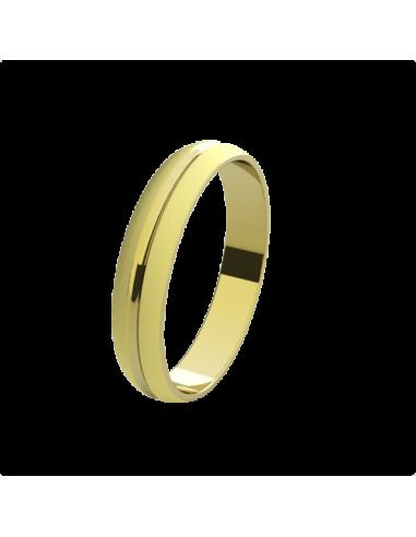 WEDDING RING PARIS YELLOW GOLD
