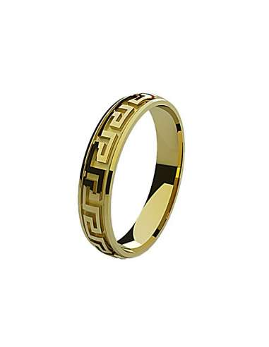 WEDDING RING ETERNITY YELLOW GOLD
