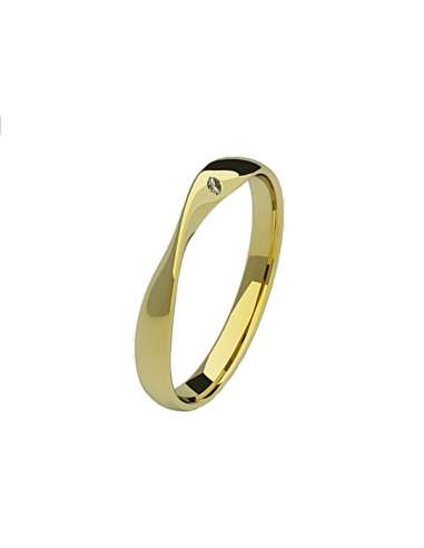 WEDDING RING DANIELA YELLOW GOLD