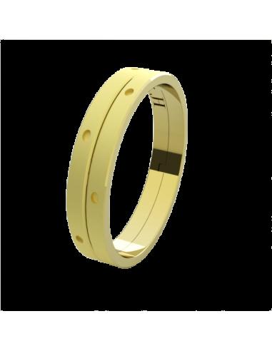 WEDDING RING SUNSHINE YELLOW GOLD