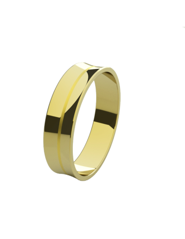 WEDDING RING DELICE YELLOW GOLD