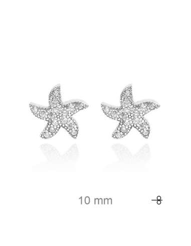 STARS EARRINGS WITH CIRCONITES